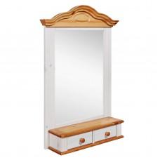 Полка - зеркало модель Синди, Антик