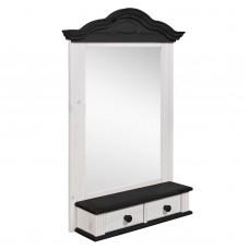 Полка - зеркало модель Синди, колониал