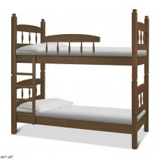 Двухъярусная кровать Кузя-2