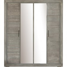 Шкаф для одежды 4д «Байс 2632-01Бр» БМ791