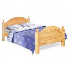 Кровать Лотос (0,9), лак/старение