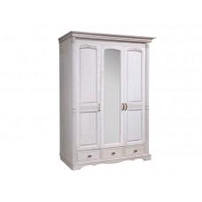 Шкаф 3-х дверный с зеркалом Паола