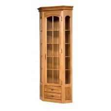 Шкаф с витриной Элбург (правая дверь, полки стеклянные)