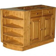 Шкаф стол угловой радиальный