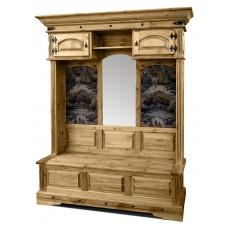 Шкаф комбинированный для прихожей «Викинг» 04