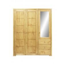 Шкаф 3-х дверный (из 2-х частей)
